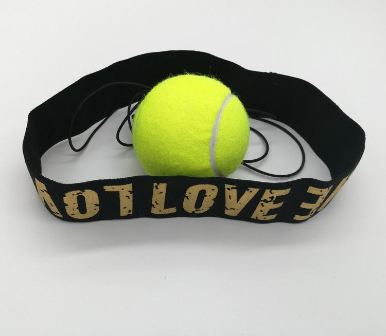 tập phản xạ với bóng tennis