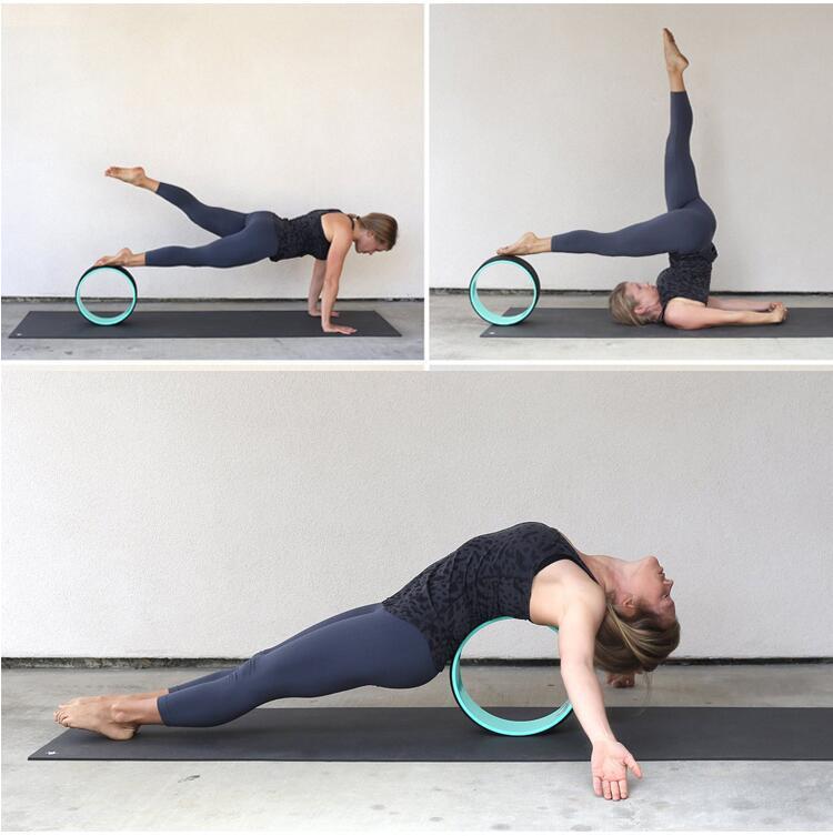 Tư thế cơ bản với vòng tập yoga