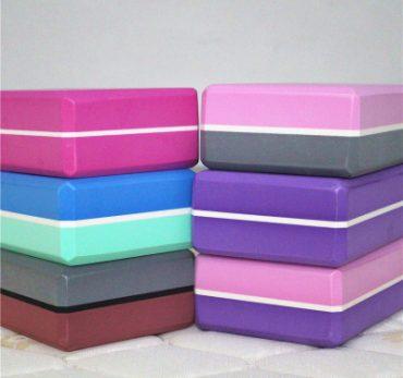 Gạch tập YOGA chất liệu EVA cao cấp 2 màu