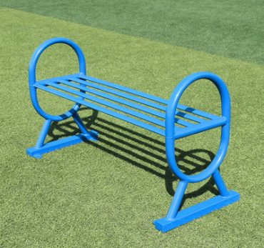 Ghế ngồi không tựa công viên