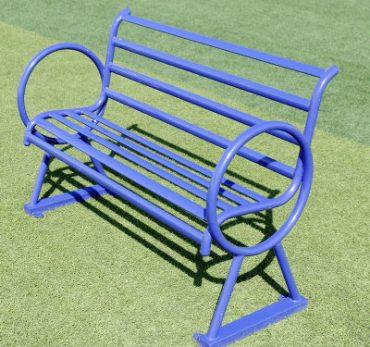 Ghế ngồi có tựa lưng cho công viên
