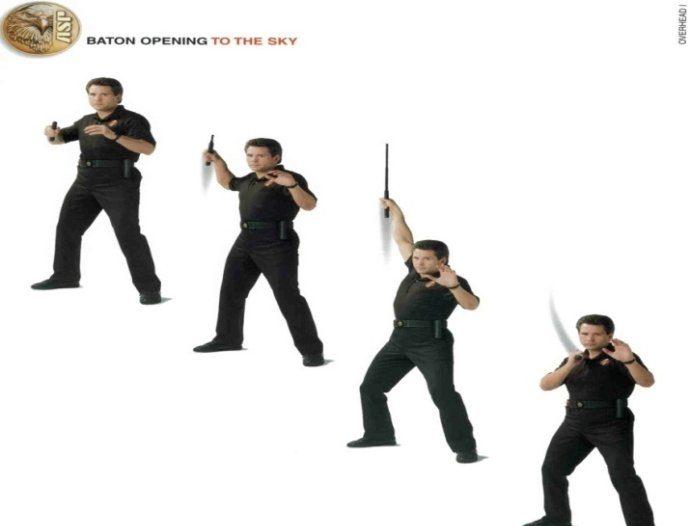 cách mở baton kết hợp tấn công