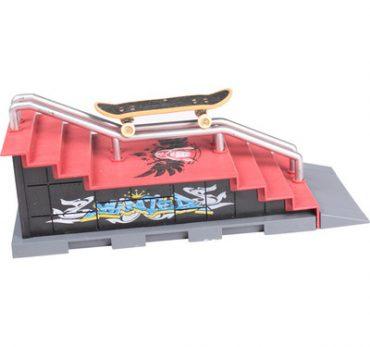 Địa hình cầu thang cho môn ván trượt tay ( tặng 1 ván trượt)