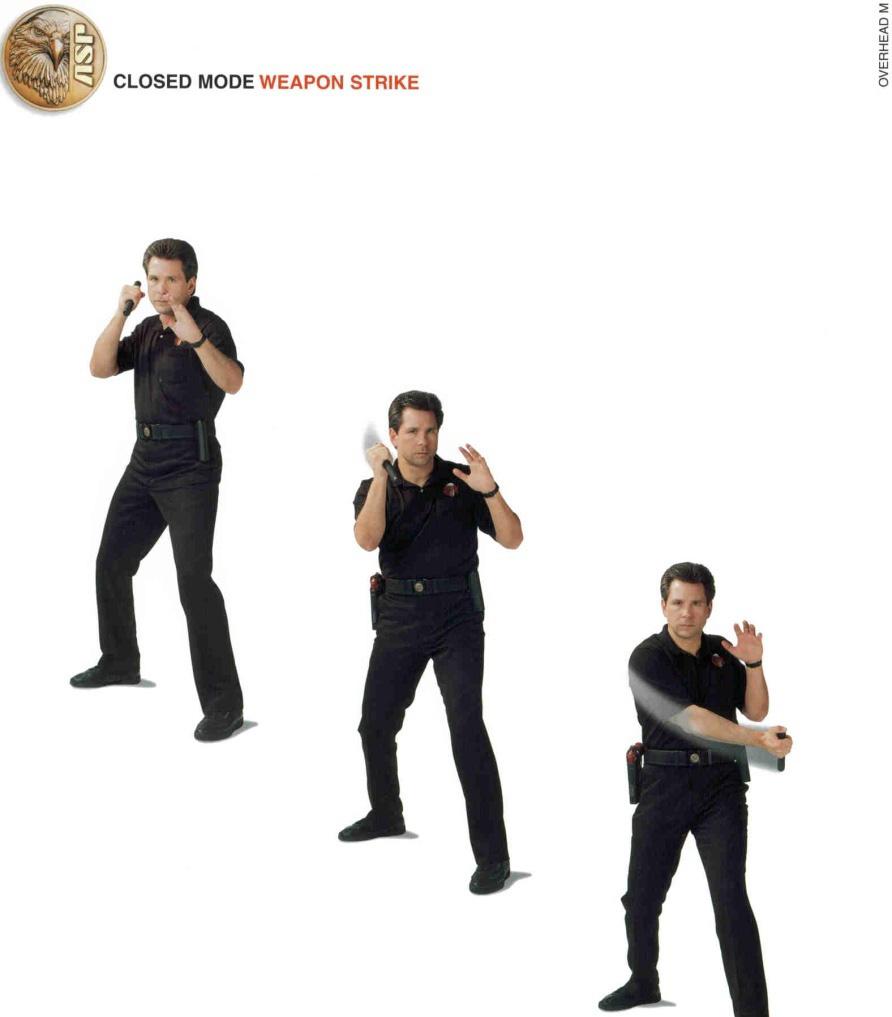Cách dùng gậy ba khúc tấn công