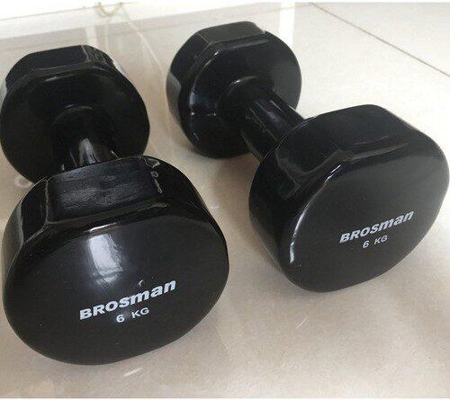 Tạ tay brosman 6kg